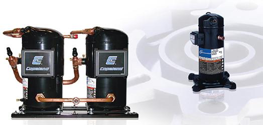 COPELAND - Спіральні компресори для кондиціювання повітря серії ZR, тандеми